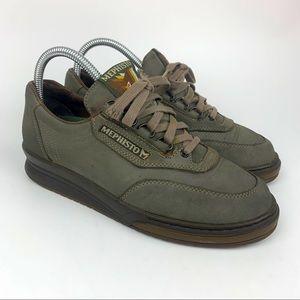 Mephisto Women's Match RunOff Birch Olive Shoes